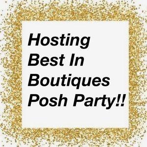 🎉🎉🎉Hosting Posh Party 8-18-19🎉🎉🎉